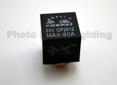 12V 4 PIN SPDT AUTOMOTIVE RELAY 70A 80A HID 12VOLT AMP Waterproof Breaker