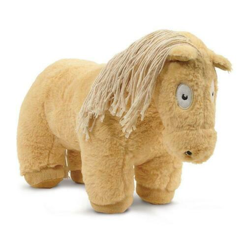 Mit Anleitung Pluschpferd Groß Kuscheltier Palomino Plüschtier Pferd 48 cm