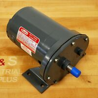 Dayton 6k993 Split Phase Gearmotor. Hp:1/4, Rpm:90, Ratio-19.2:1 -