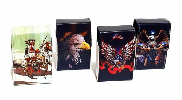 Zigarettenetui Zigarettenbox Zigaretten Zigarettenschachtel Gürtel Etui Case Box
