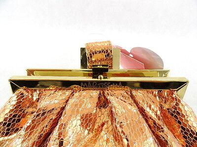 Tasche Damen Abendausgehtasche Bronze Clutsch Martissima Top!
