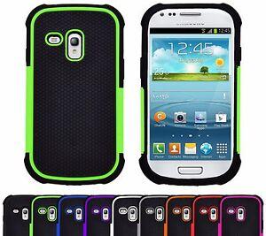 Housse-Etui-Coque-Rigide-Anti-Choc-Silicone-Armor-Pour-Samsung-Galaxy-S3-Mini
