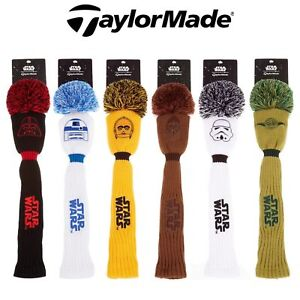 TaylorMade-Star-Wars-Golf-Pom-Pom-Driver-Headcover-LTD-Edition-Golf-Head-Covers