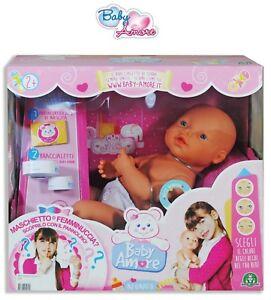 BABY AMORE NEONATO BAMBOLA bambolotto CCP19371 Giochi Preziosi