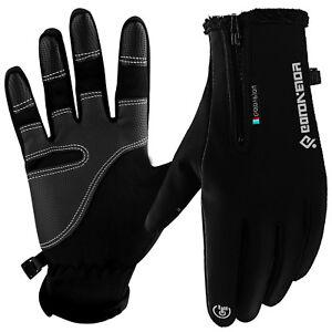Touch-Screen-Gloves-Zipper-Thermal-Winter-Sports-Skiing-Warm-Mittens-Men-Women