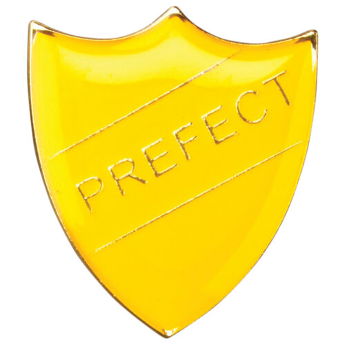 Free Delivery Prefect Shield Enamel Badges