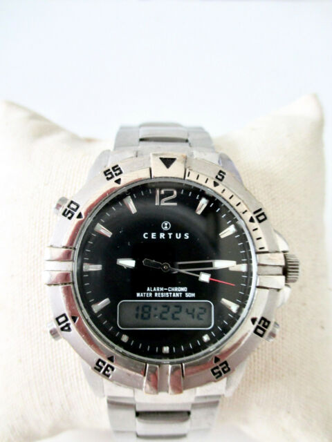 59fc34a36e0 Montre Certus Alarm-chrono Affichage Mixte (analogique   Digital ...