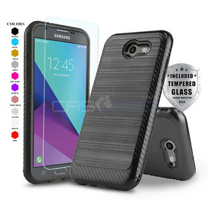 new concept 47b0f c7956 Details about MODERN ARMOR COVER PHONE CASE FOR [SAMSUNG GALAXY J3 ECLIPSE]  +TEMPERED GLASS