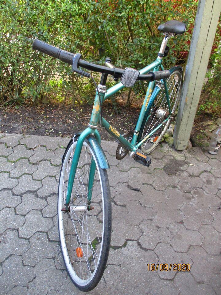 Herrecykel, andet mærke City bike, 28 cm stel
