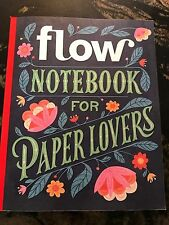 FLOW Notebook For Paper Lovers Special Edition 2016 NEW