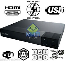 Sony BDP-S3500 ALL Region Free DVD and Region A Blu-Ray Disc Player w/ WiFi, USB