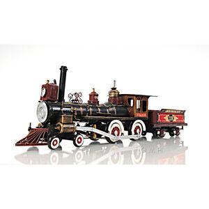"""Union Pacific Railroad No. 119 Steam Locomotive Model 21"""" Golden Spike Train New"""