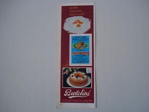 advertising Pubblicità 1974 LIEVITO BERTOLINI