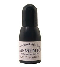 Stampin Up Memento Ink refill  Black Use with your copic markers
