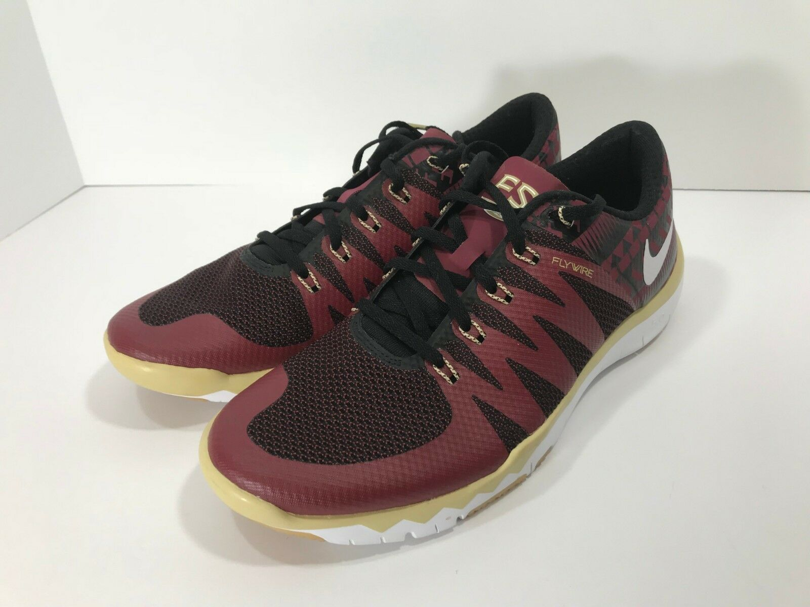 New Nike Free Trainer 5.0 V6 AMP Men's Size 10.5 FSU Seminoles 723939-706