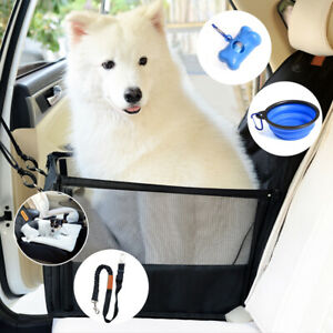 Hundebox-fuer-Autositz-Hundekorb-mit-weichem-Plueschboden-verstellbarem