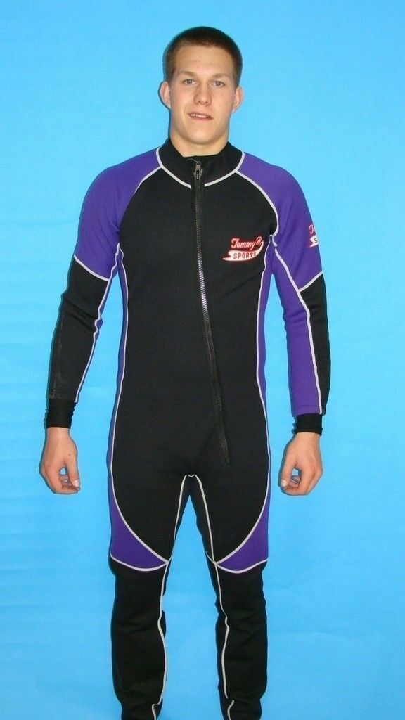Wetsuit 1mm Front Zipper Full Length - 8802 -  XL  up to 70% off