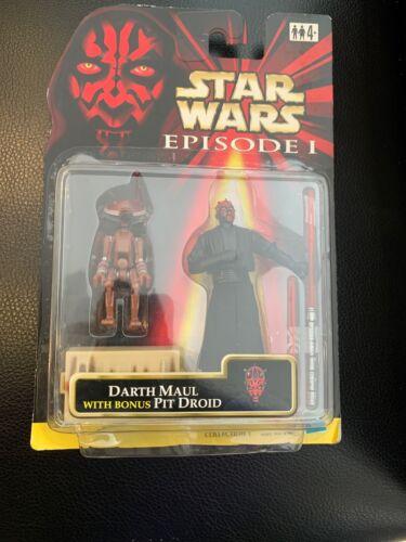 Star Wars Episode 1 Darth Maul With Bonus Pit Droid Dark Variant Euro