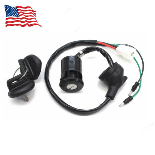 Main Ignition Key Switch For 85-87 ATC250ES Red ATC250SX WITH MODS
