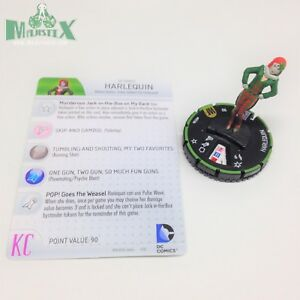 Heroclix World's Finest set Harlequin #053b Prime figure w/card!
