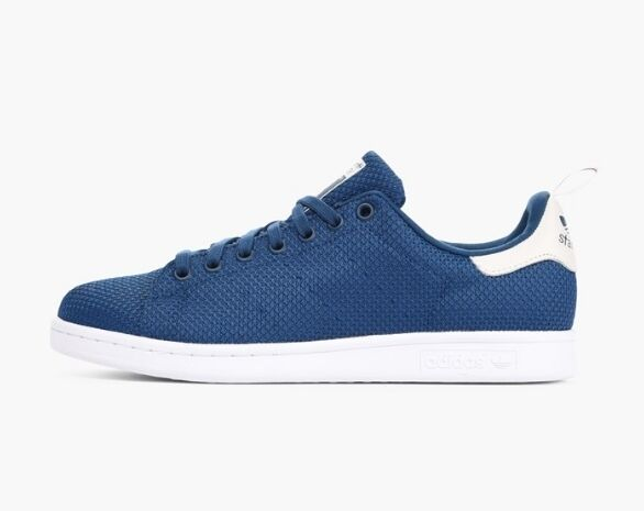 8b2abd0fdf99 adidas Originals Stan Smith Ck Circular Knit Shadow Blue Mens Trainers  S75023 11 for sale online