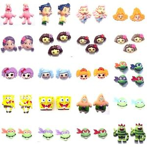 NICKELODEON-CHARACTER-Resin-Flatback-Cabochons-Embellishments-You-Chose-Style