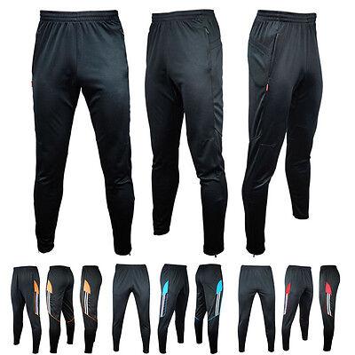 Men's Sport Soccer Training Basketball Running Skinny Pants Athletic Trousers Ch