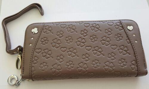 Damen Geldbeutel mit  Reißverschluß Handschlaufe Geldbörse Geschenk Beutel