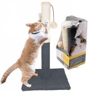Large Cat Pet Scratch Post Scratching Tree Scratcher Sisal ...