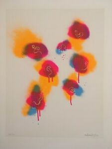 Tetsumi kudo serigraph in colors signed and numbered