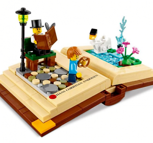 LEGO Creative Personalities - Hans Christian Andersen - 40291 with 2 Minifigures