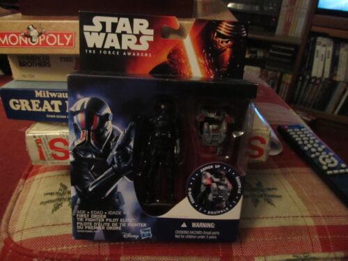 Star Wars Force Awakens First Order Tie Fighter Pilot Elite MOC