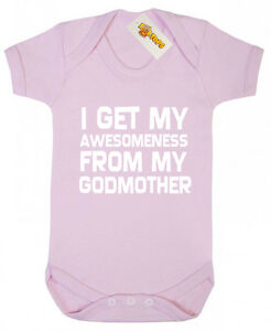 awesomeness from godmother bodysuit christening gifts for godson
