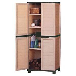 kunststoffschrank gartenschrank schrank garten box. Black Bedroom Furniture Sets. Home Design Ideas