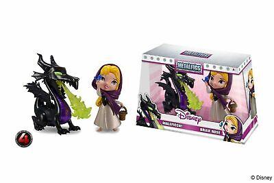 MALEFICA e AURORA 10m METALLO JADA Maleficent Briar Rose Metalfigs D3 DieCast