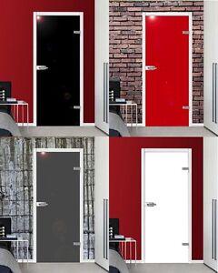 vsg glast r zimmert r dreht r weiss rot schwarz grau mit beschlag ebay. Black Bedroom Furniture Sets. Home Design Ideas