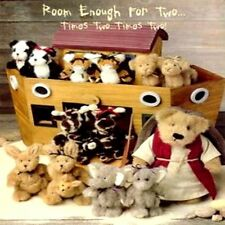 "Boyds Bears ""Noah's Ark Collection""  Ark & Plush - #BD568900 - New- 2002"