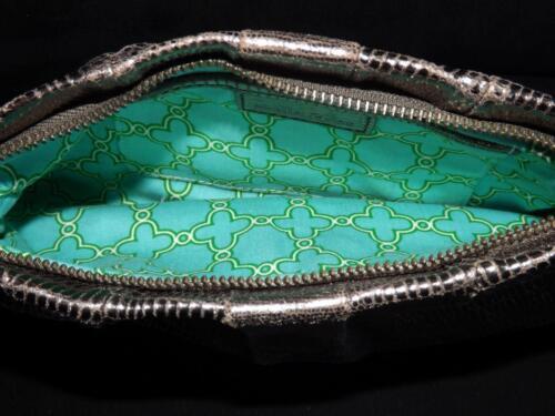 Festa a d'argento serpente stellare pelle borsa e di di punto con mano rq6rwU