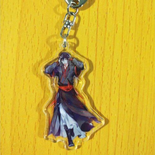 Grandmaster of Demonic Cultivation Keychain Acrylic Keyring Wei Wuxian Lan Wangj