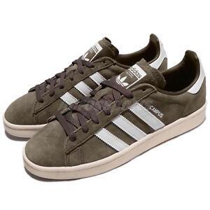release date: c4dfc ddf1a Image is loading adidas-Originals-Campus-Nubuck-Branch-Brown-Chalk-White-