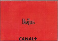 THE BEATLES calendrier promo CANAL+ 1996