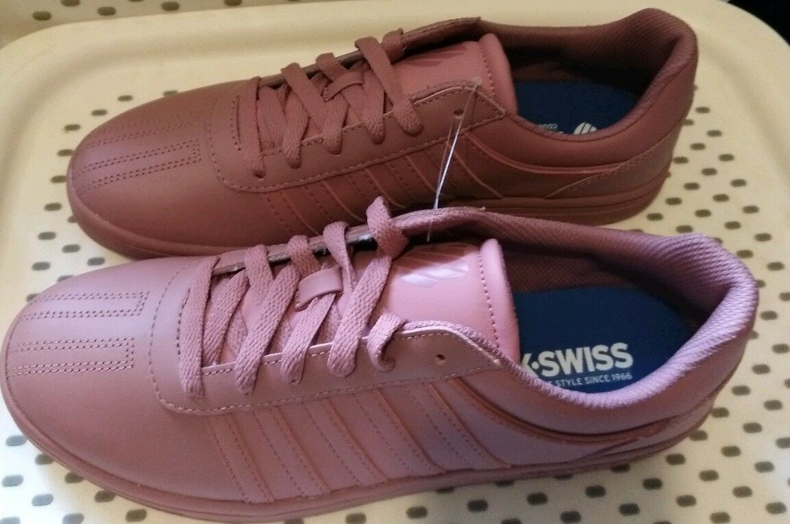 Damenschuhe Gold K-Swiss Court Chesterfield Sneakers - Rose Gold Damenschuhe 55a7f6
