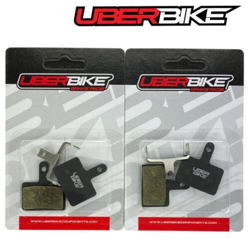 Uberbike Shimano Alivio M4050 M395 Acera3050 Semi Metallic Disc Brake Pads
