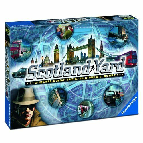 Game table Ravensburger 26648 Scotland Yard From 8 anni