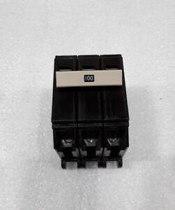Cutler Hammer 100 amp 2 pole type Ch3 circuit breaker  free S/&H