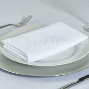 "Nappe blanche 230 cm x 330 cm, 90"" X 130"" pouces, 220GSM Polyester Table Cloth **"