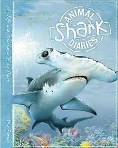 Shark-Animal-Diaries-Parker-Steve-Used-Good-Book