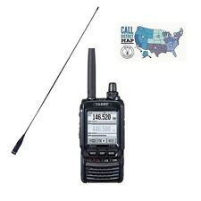 Yaesu FT-2DR C4FM Dual Band Transceiver with Comet SMA-24 High-Gain SMA Antenna