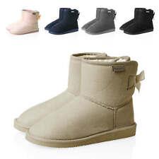 Hachiro Damen Schlupfstiefel Stiefeletten Stiefel Boots Winterstiefel Schuhe