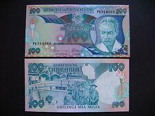 TANZANIA  100 Shilingi 1986  (P14b)  UNC